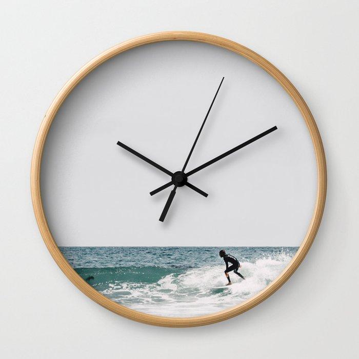 surfer ii Wall Clock