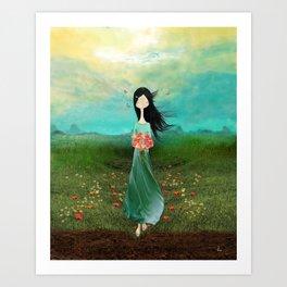Blazing Glory Art Print