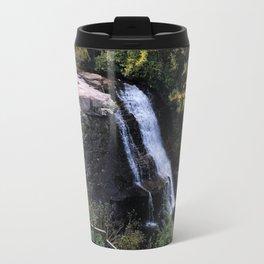 Fall Waterfalls Travel Mug
