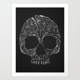 Weapons of the Death Art Print