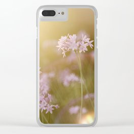 Reassurance 2 (Magic Garden series) Clear iPhone Case
