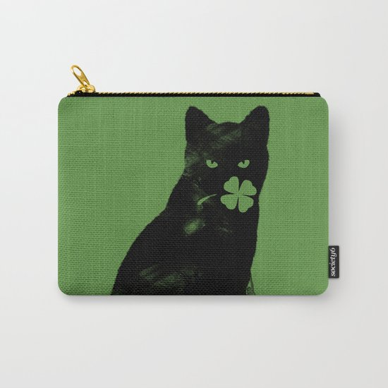 St Paddy's Cat Carry-All Pouch