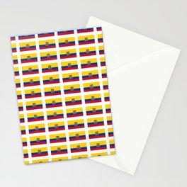 Flag of Ecuador 2- Ecuadorian,Kichwa,Inca,Guayaquil,Quito Stationery Cards
