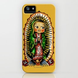 Kewpie Guadalupano iPhone Case