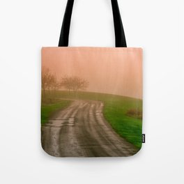 She Was in Love With Her Rose Colored Glasses Tote Bag