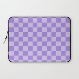 Lavender Check Laptop Sleeve