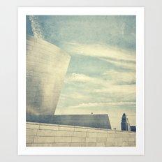 Walt Disney Concert Hall, Los Angeles Art Print