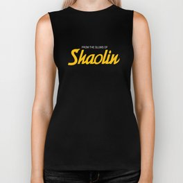 WU  CLAN FROM THE SLUMS OF SHAOLIN CLASSIC HIP HOP Biker Tank