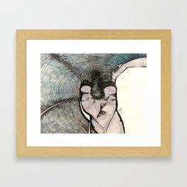 Study of Wings Framed Art Print