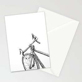 Moving bicycle Stationery Cards