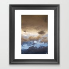 New Mexico sunset 2 (July 2014) Framed Art Print