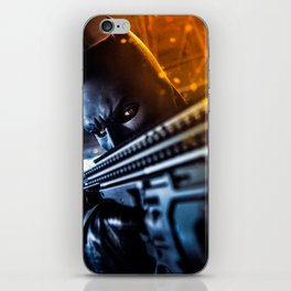 the knight strikes back iPhone Skin