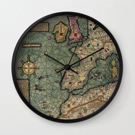 Western Europe 1375 Wall Clock