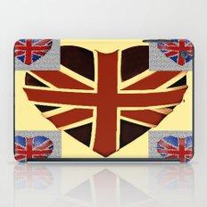 I Heart Great Britain. iPad Case