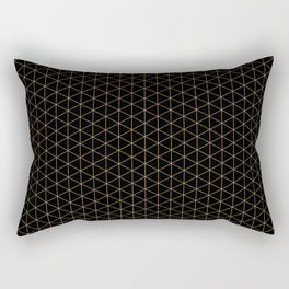 Dark night hidden stars Patterns Design Rectangular Pillow