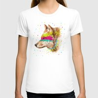 selena gomez T-shirts featuring Cherokee Wolf II by dogooder