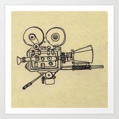 Film Camera Art Print