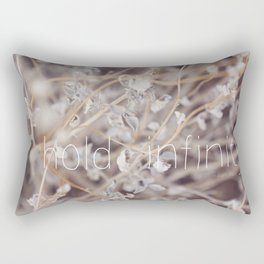 Hold Infinity Rectangular Pillow