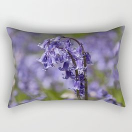 In Among the Bluebells Rectangular Pillow