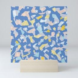 Terrazzo Mosaic Style B Mini Art Print