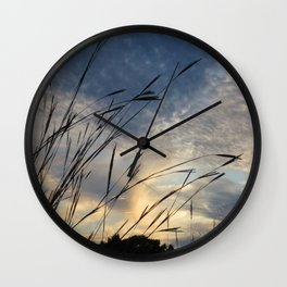 Twilight Blue Wall Clock