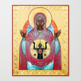 OUR LADY OF FERGUSON Canvas Print