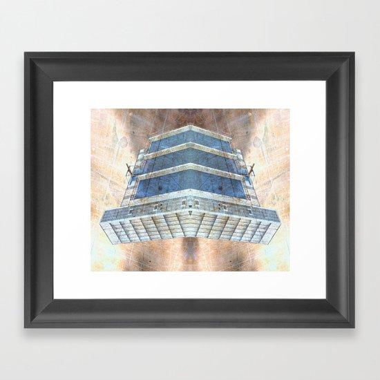 The Alien Vessel Framed Art Print