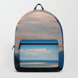 Surf at the Giants Causeway Backpack
