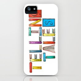 Telling Tales iPhone Case