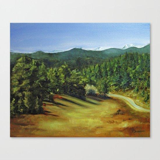 Afternoon Shadows at Pence Park Canvas Print