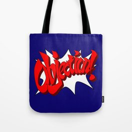 ACE ATTORNEY PHOENIX WRIGHT: OBJECTION! Tote Bag