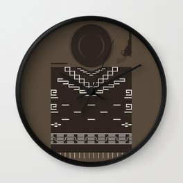 How to be a Good Gunslinger Wall Clock