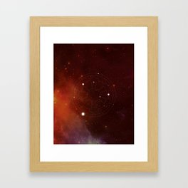 A Constellation for the Empire Framed Art Print