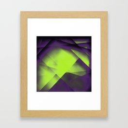 Purple Color Package Framed Art Print