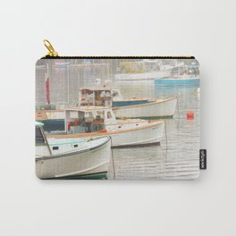 Lobster Boats In Bass Harbor Mount Desert Island Maine  Carry-All Pouch