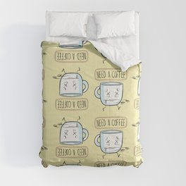 Need a Coffee Comforters