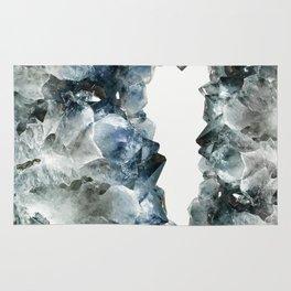 Crystal Photography | Sapphire | Gem | Stone | Geometry Rug