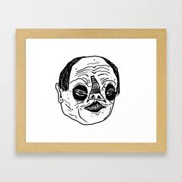 Phantomb Framed Art Print