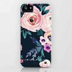 Moody Victoria Flower iPhone (5, 5s) Slim Case