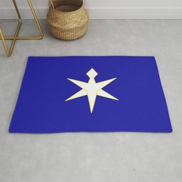 flag of Chiba prefecture Rug