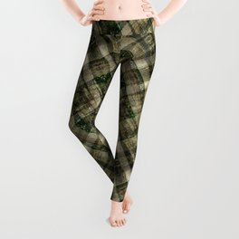 THE SUNNY EDGE OF A MOUNTAIN FOREST Leggings