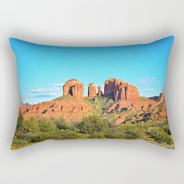 Cathedral Rock Sedona Arizona Rectangular Pillow