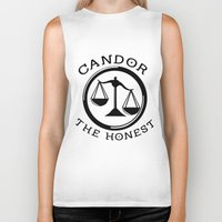 divergent Biker Tanks featuring Divergent - Candor The Honest by Lunil