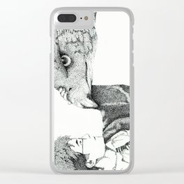 Fantastic Beasts Clear iPhone Case