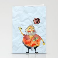 pi Stationery Cards featuring Pi Power! by Jo-L Hate