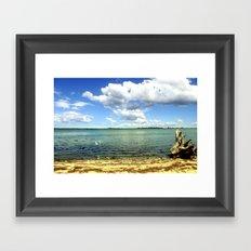 King Lake - Australia Framed Art Print