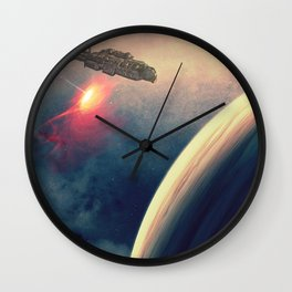 Excursion through time Wall Clock