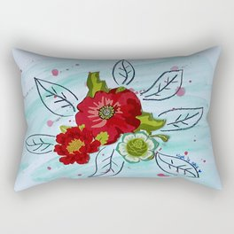 Roses VII Rectangular Pillow