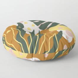 Floral Magic Floor Pillow