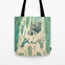 A Wizard's Garden Tote Bag